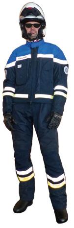 Protection : Les gendarmes à moto changent de tenue  L'équipement