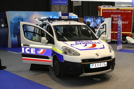 La police nationale au mondial de l automobile 2014 l for Gendarmerie interieur