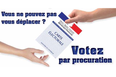 Nouvelles modalités du vote par procuration
