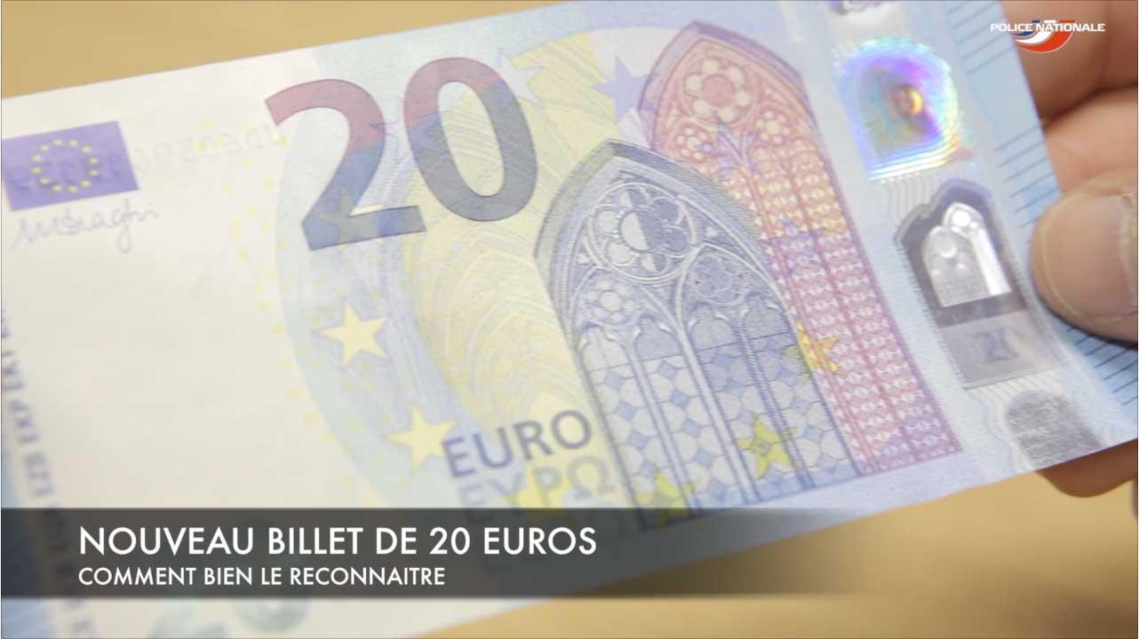 Nouveau billet de 20 euros savoir le reconna tre l 39 actu - Comment reconnaitre de l ivoire ...