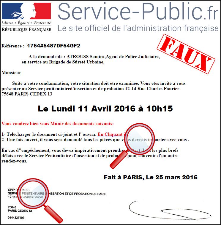 phishing  u00e0 la fausse convocation    l u0026 39 actu police