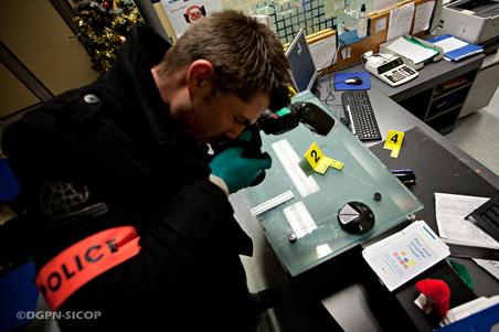 DCPJ scène de crime